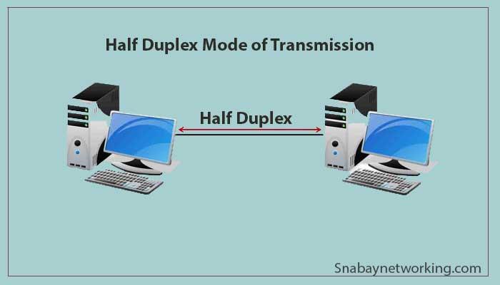 Half Duplex Mode of Transmission