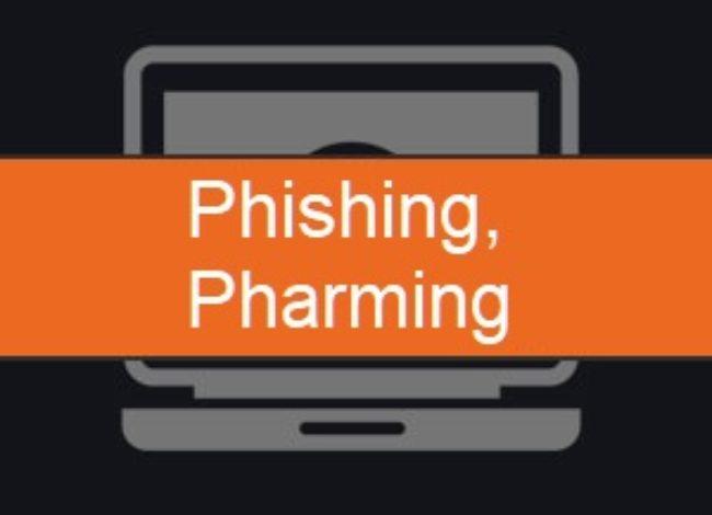 Phishing and Pharming Spoof Attacks