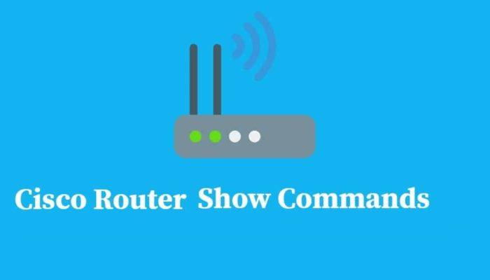 Cisco Router Show Commands