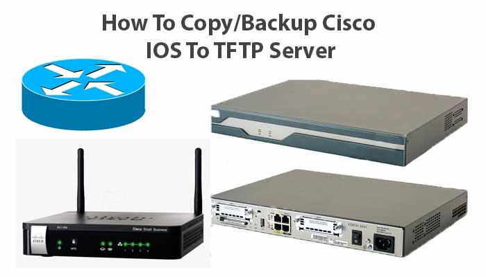 How To Copy Cisco Ios To TFTP Server | Backup Cisco Config TFTP | Configure TFTP Server Cisco