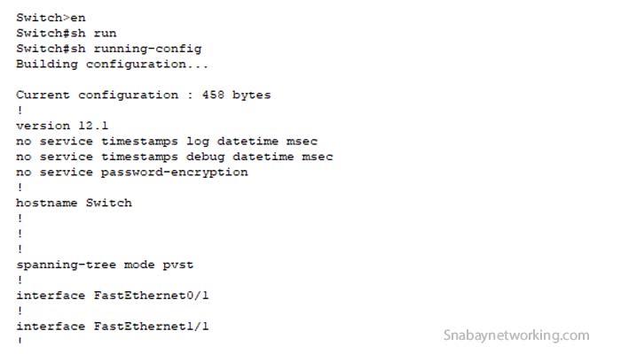 CLI configuration