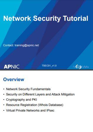 Network Security Tutorial  pdf